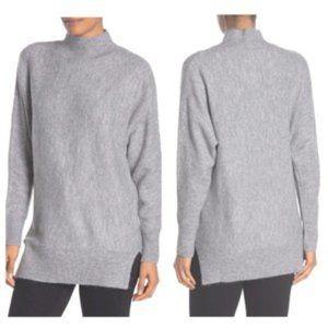 Magaschoni Long Sleeve Mock Neck Dolman Sweater